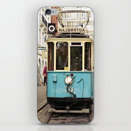 the tram iPhone Skin