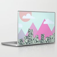 denver Laptop & iPad Skins featuring denver by marney cinclair