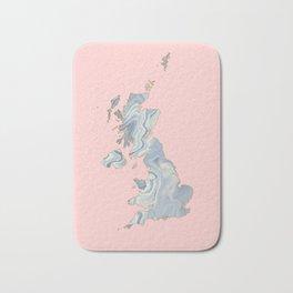 UK map Bath Mat