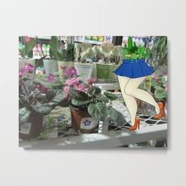 Plant Lyfe Metal Print