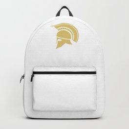 Roman Galea or Helmet in Japanese Gold Backpack