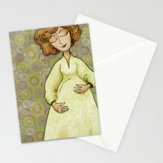 Sarah Expecting Stationery Cards