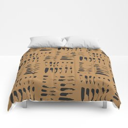 Pattern, Abstract Texture Comforters