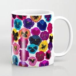 Plentiful pansies Coffee Mug