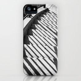 Stairway shadows iPhone Case
