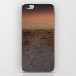 Adventure outside the walls iPhone Skin