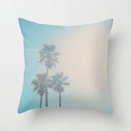palm tree II ... Throw Pillow
