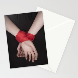Red Ribbon Stationery Cards