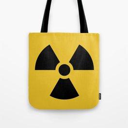Radiation Hazard Symbol Tote Bag