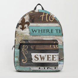 Home Sweet Home Series Backpack