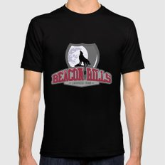 Teen wolf - Beacon hills lacrosse team Black Mens Fitted Tee SMALL