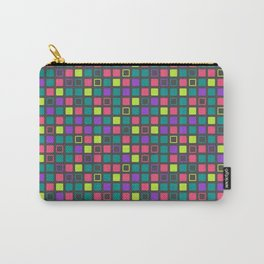 Night On The Town Square Pattern Carry-All Pouch