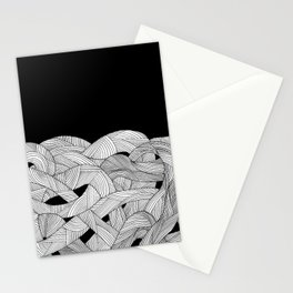 The tangled sea Stationery Cards