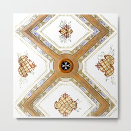A Glass Ceiling Metal Print