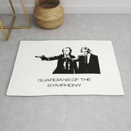 Brahms & Beethoven Guardians of the Symphony Rug