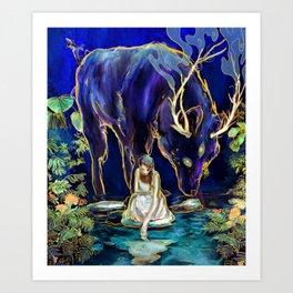 Unseen Moments Art Print