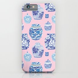 Chinoiserie Ginger Jar Collection No.7 iPhone Case