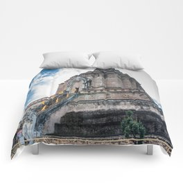 The Chedi of Wat Chedi Luang_Thailand Comforters