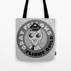 Gray Fellows Flight Guild Tote Bag