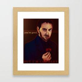 King of Hell Framed Art Print