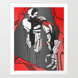 ULTRACRASH 1 Art Print