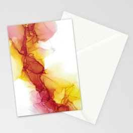 Flow and fire Stationery Cards