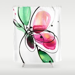 Ecstasy Bloom No. 2 by Kathy Morton Stanion Shower Curtain