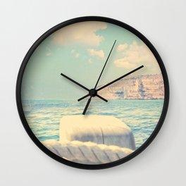 Sailing the Seven Seas Wall Clock