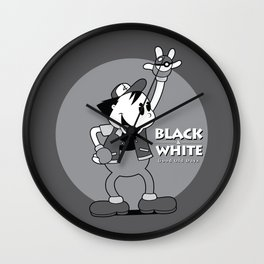 Black and White Wall Clock