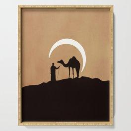 Desert moonlight Serving Tray