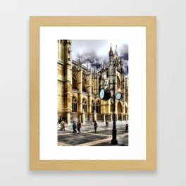 Leon Cathedral, Spain Framed Art Print