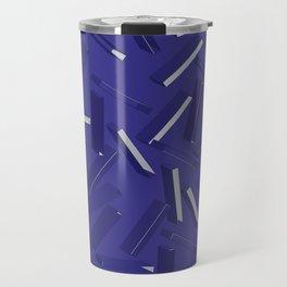 3D Pattern  X 0.5 Travel Mug