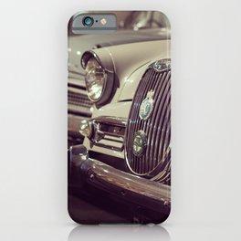 1966 Car Showroom iPhone Case