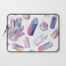 Purple Crystals Laptop Sleeve