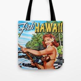 Fish Hawaii Tote Bag