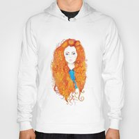 brave Hoodies featuring Brave by FeliciaR