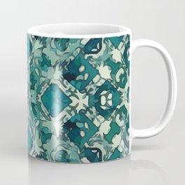 Celtic Green Garden Lattice Coffee Mug