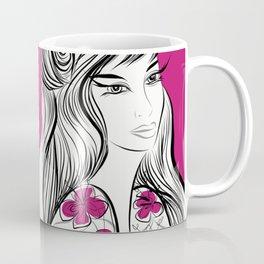 Korean Spring : Dusky Rose Coffee Mug