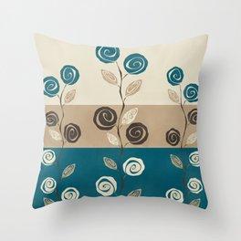 How Does Your Garden Grow Throw Pillow