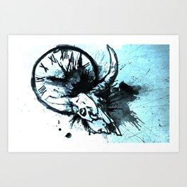 Where Did the Time Go? Art Print