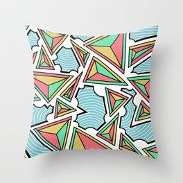Closed Communiaton Throw Pillow