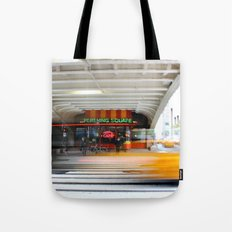New York Grand Central Cafe Tote Bag