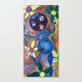 flower frolicker Canvas Print