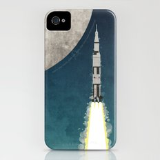 Apollo Rocket iPhone (4, 4s) Slim Case