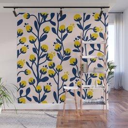 Garden Dreamer: flower buds Wall Mural