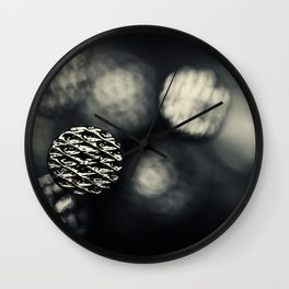 A hit on the head... Wall Clock