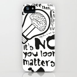 Imagination in the membrane iPhone Case