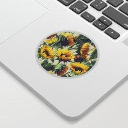 Sunflowers Forever Sticker