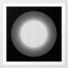 The light from beyond Art Print
