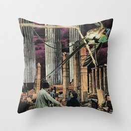 What the Elders Have Wrought Throw Pillow
